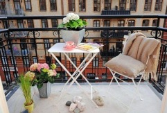 stadtvilla. balkon.