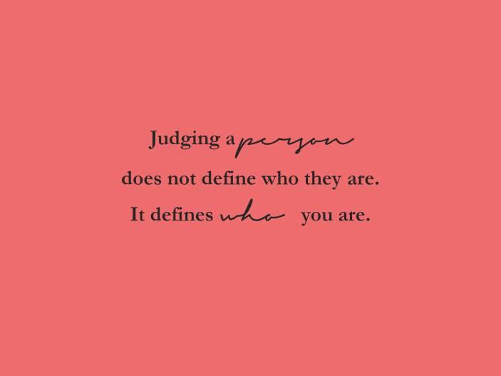 dont judge II