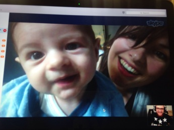 skype with uncle